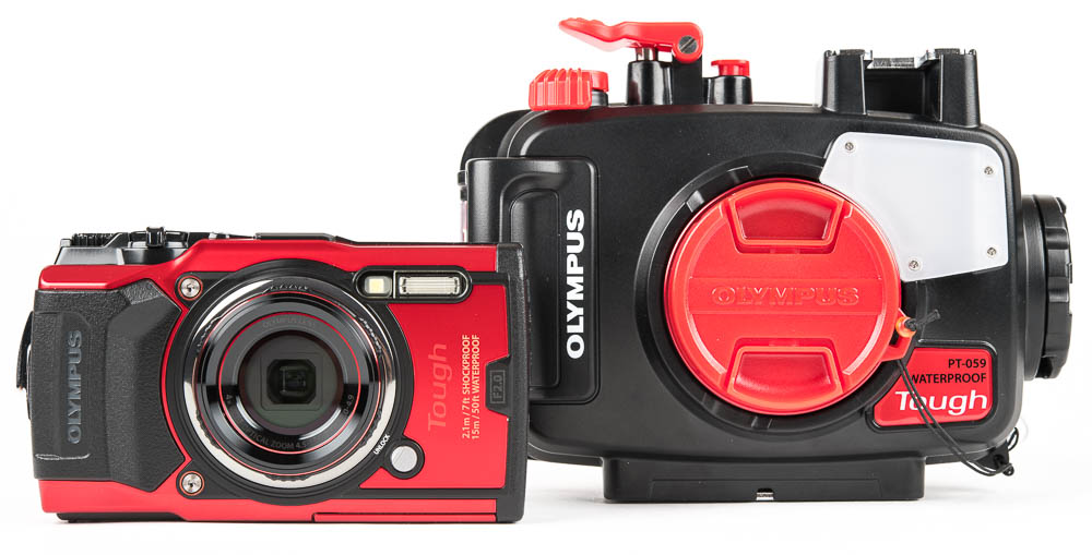 Olympus TG-6 and Underwater Accessories